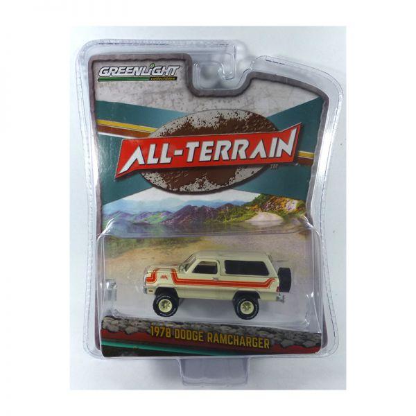 Greenlight 35130-C Dodge Ramcharger weiss 1978 - All Terrain Maßstab 1:64