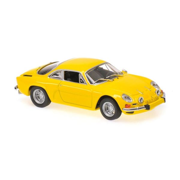 Maxichamps 940113601 Renault Alpine A110 gelb Maßstab 1:43