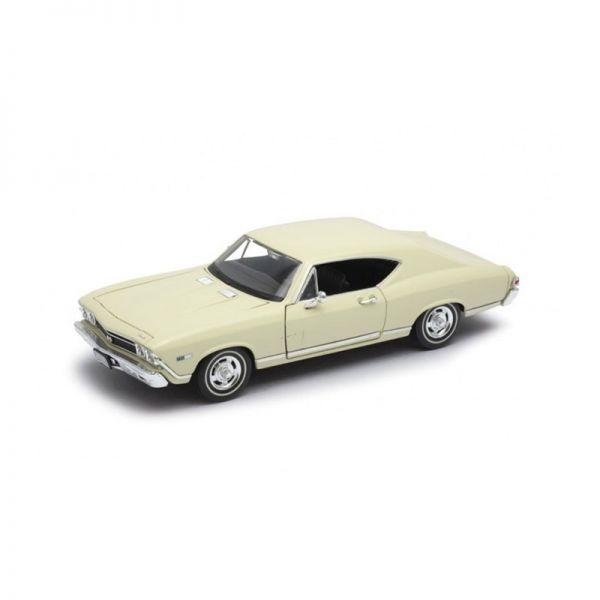 Welly 29397 Chevrolet Chevelle SS 396 beige Maßstab 1:24 Modellauto