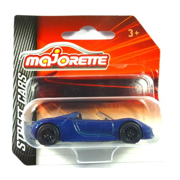 Majorette 212052791 Porsche 918 Spyder blau - Street Cars 1:64 Modellauto