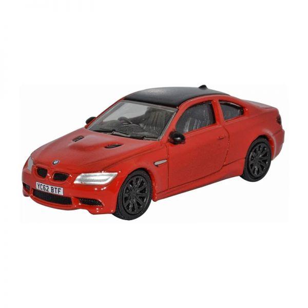 Oxford 76M3004 BMW M3 (E92) rot/schwarz Maßstab 1:76