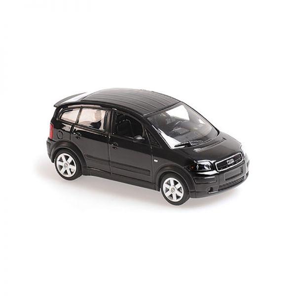 Maxichamps 940019001 Audi A2 schwarz metallic Maßstab 1:43