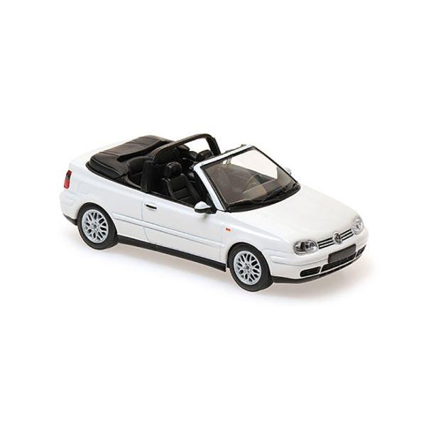 Maxichamps 940058330 VW Golf IV Cabriolet weiss Maßstab 1:43