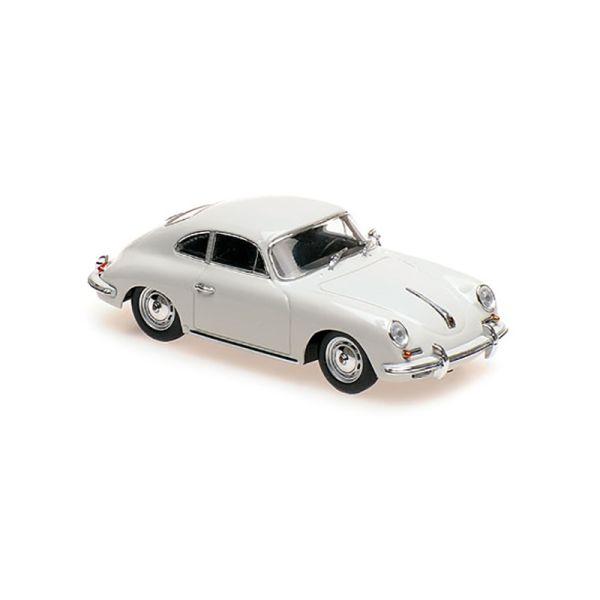 Maxichamps 940064301 Porsche 356 B Coupe hellgrau Maßstab 1:43