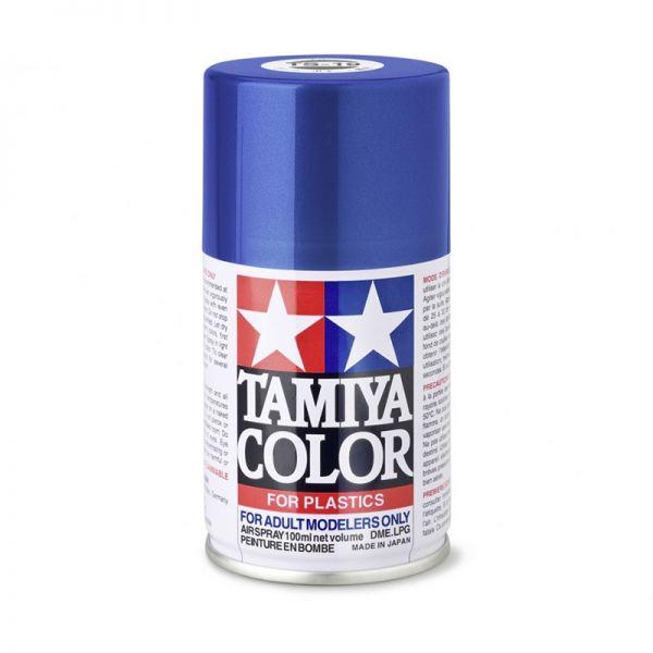 Tamiya 85019 Farbe TS-19 Metallic Blau glänzend 100ml Spray