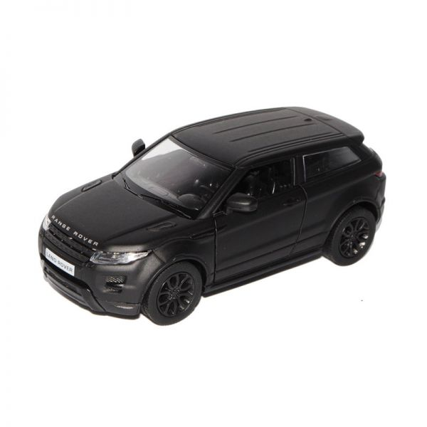 Welly 24021 Range Rover Evoque matt schwarz Maßstab 1:24 Modellauto