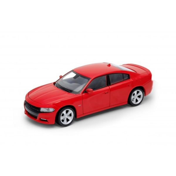 Welly 24079 Dodge Charger R/T rot Maßstab 1:24 Modellauto