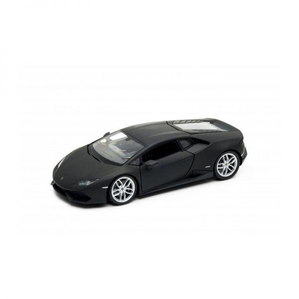 Welly 24056 Lamborghini Huracan LP610-4 matt schwarz Maßstab 1:24 Modellauto