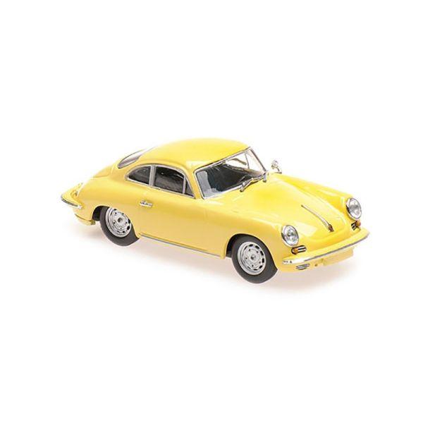Maxichamps 940062361 Porsche 356 C Carrera 2 gelb Maßstab 1:43