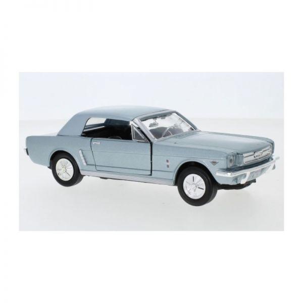 Motormax 73273 Ford Mustang Hardtop blau Maßstab 1:24