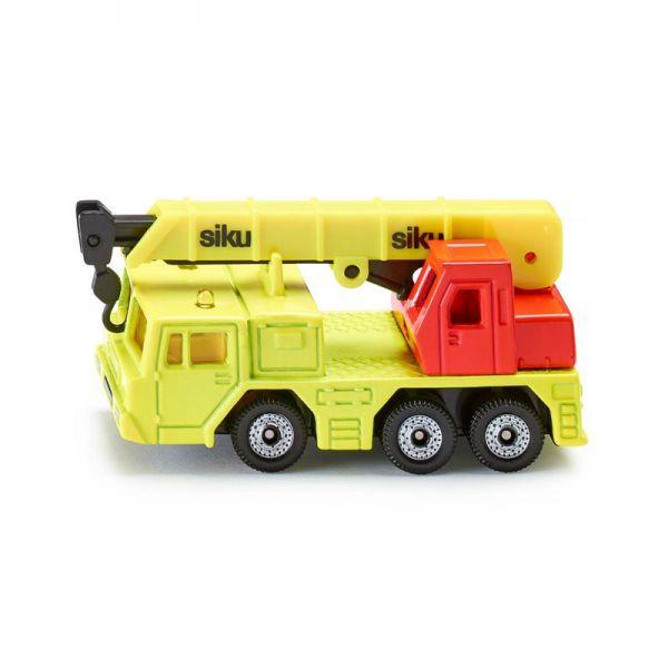 Siku 1326 Hydraulischer Kranwagen leuchtend gelb (Blister)