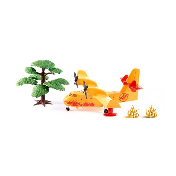 Siku 1793 Löschflugzeug gelb Maßstab 1:87