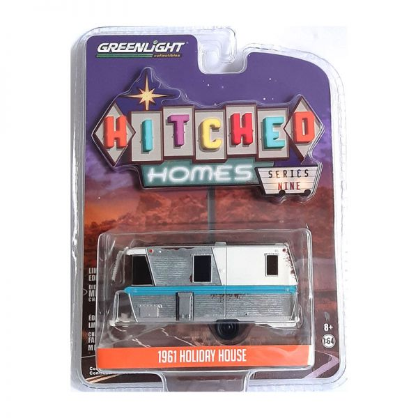 Greenlight 34090-A Holiday House silber - Hitched Homes Maßstab 1:64