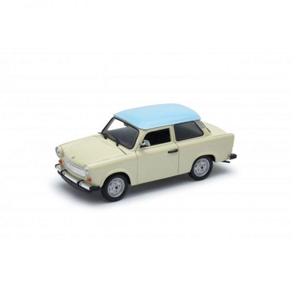 Welly 24037 Trabant 601 beige/hellblau Maßstab 1:24 Modellauto