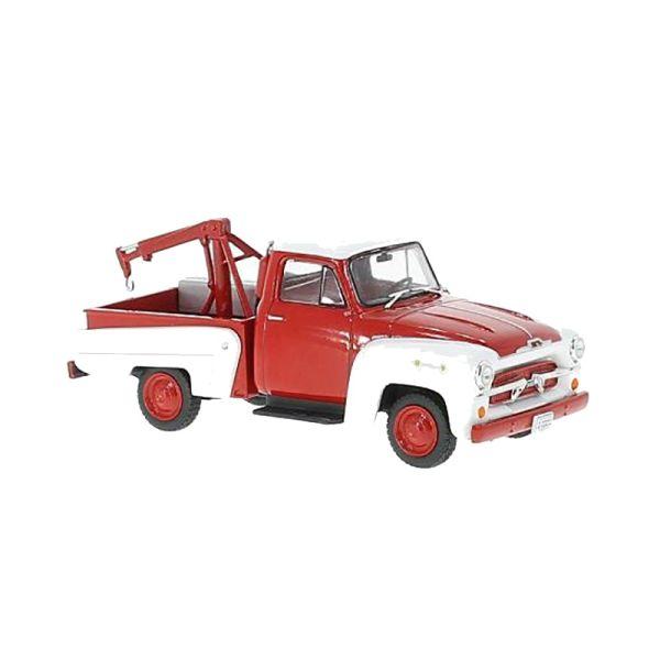 WHITEBOX WB233 Chevrolet 3100 Tow Truck rot Maßstab 1:43 Modellauto