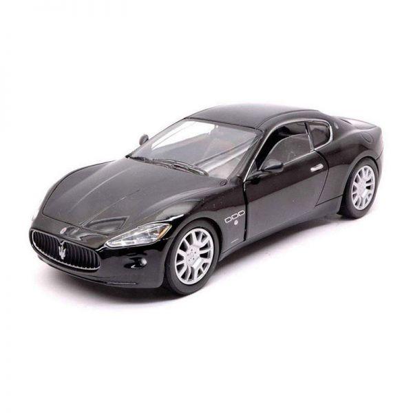 Motormax 73361 Maserati Gran Turismo schwarz Maßstab 1:24