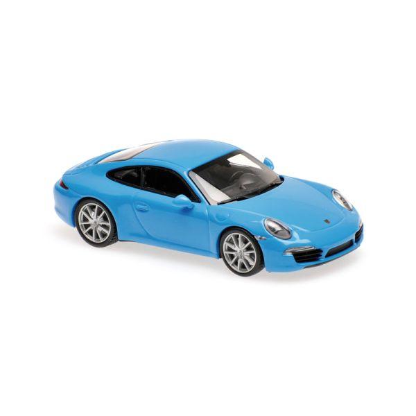 Maxichamps 940060220 Porsche 911 (991) Carrera S blau Maßstab 1:43