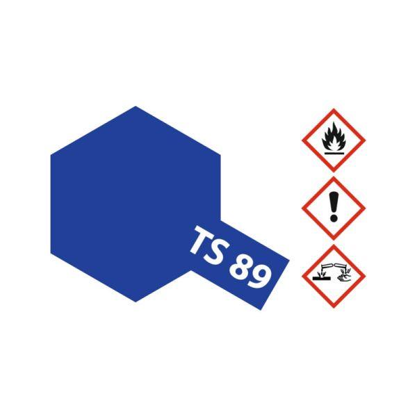 Tamiya 85089 Farbe TS-89 Blau Perleffekt 100ml Spray