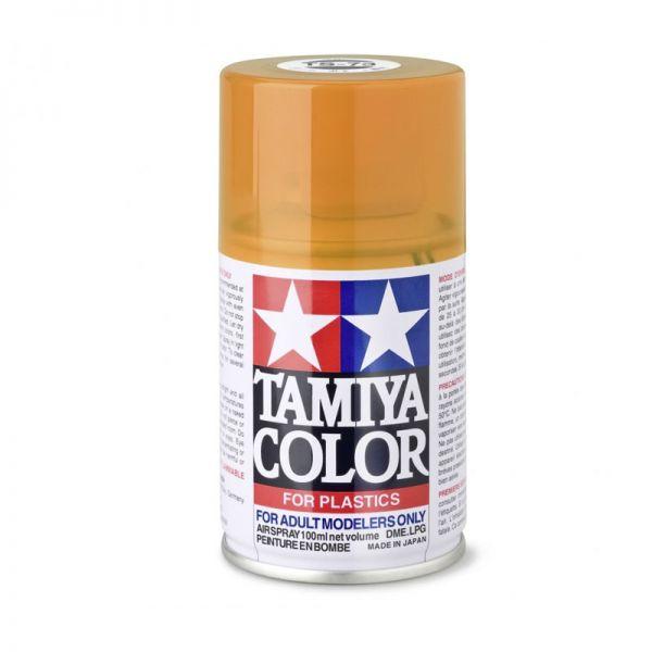 Tamiya 85073 Farbe TS-73 Orange Transparent/Klar glänzend 100ml Spray