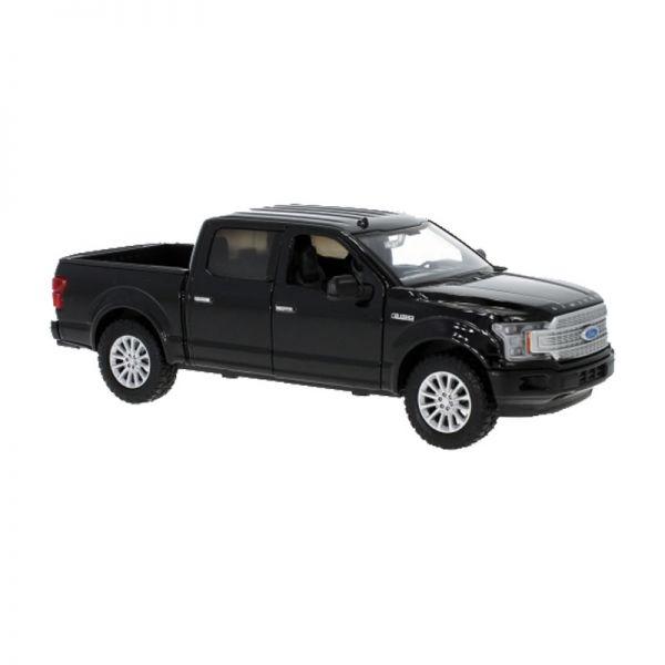 Motormax 79364 Ford F-150 Limited Crew Cab Pick Up schwarz Maßstab 1:24