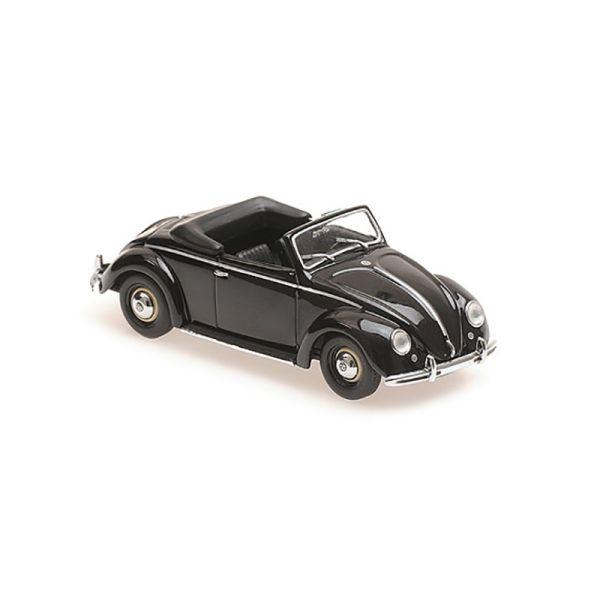 Maxichamps 940052130 VW Hebmueller Cabrio schwarz Maßstab 1:43