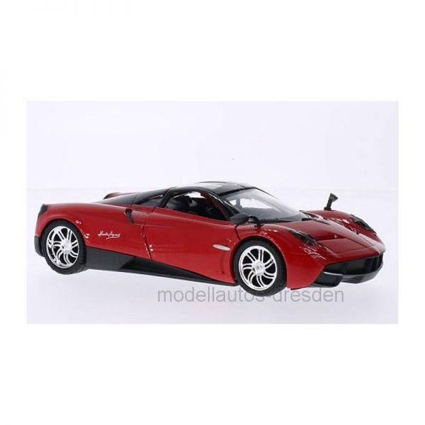 Motormax 79312 Pagani Huayra rot Maßstab 1:24