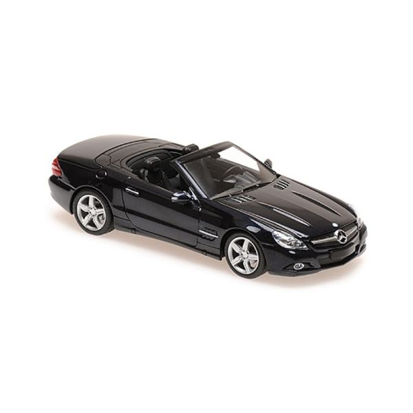 Maxichamps 940037531 Mercedes Benz SL-Klasse dunkelblau metallic Maßstab 1:43