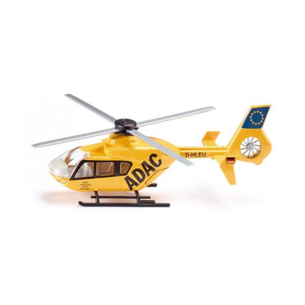 "Siku 2539 Rettungs-Hubschrauber ""ADAC"" gelb Maßstab 1:55"