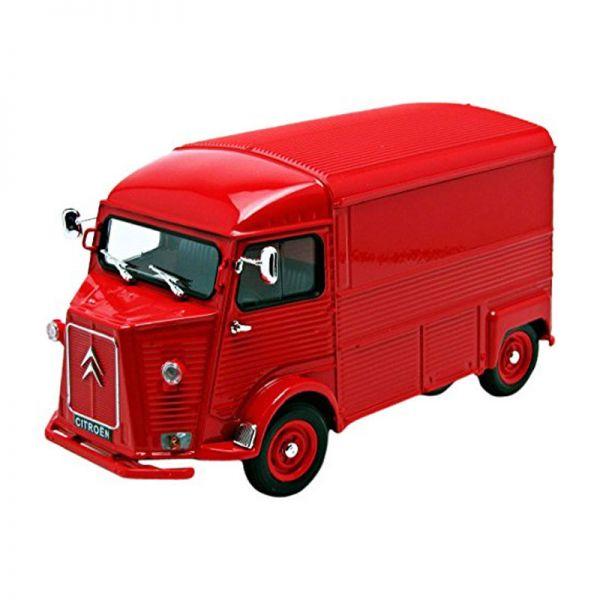Welly 24019 Citroen Type H rot Maßstab 1:24 Modellauto NEU!
