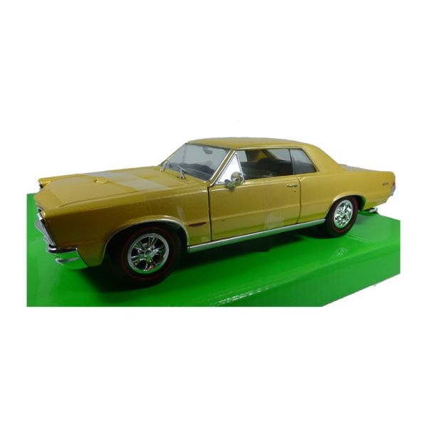 Welly 22092 Pontiac GTO gold metallic Maßstab 1:24 Modellauto