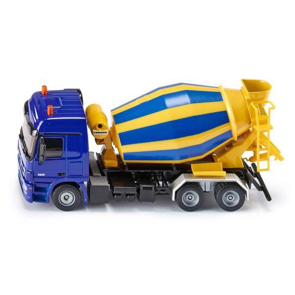 Siku 3539 Mercedes Actros Fahrmischer blau/gelb Maßstab 1:50