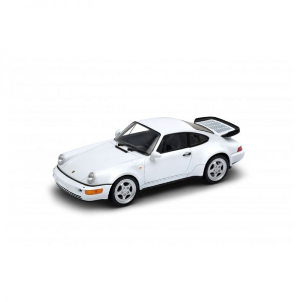 Welly 24023 Porsche 911 (964) Turbo 3.0 weiss 1974 Maßstab 1:24 Modellauto