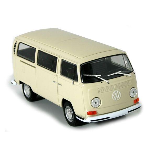 Welly 22472 VW T2 Bus beige 1972 Maßstab 1:24 Modellauto